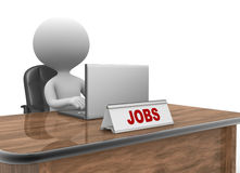 Jobs concept Stock Photos