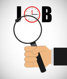 Jobs concept design Stock Photography