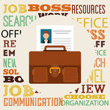 Jobs concept design Royalty Free Stock Images