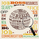 Jobs concept design Royalty Free Stock Photography