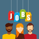 Jobs concept design Stock Photo
