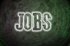 Jobs Concept Royalty Free Stock Photography