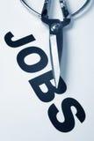 Jobs Cut Stock Photo