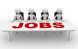 Jobs Royalty Free Stock Image