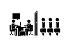 Jobs design Stock Photography