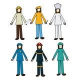 Jobs design Stock Images