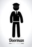 Jobs design over white background vector illustration Stock Image