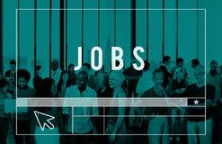 Jobs Employment Career Occupation Application Concept.  Stock Photos