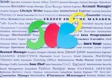 Jobs, freie Stellen und Öffnungen Lizenzfreie Stockfotografie