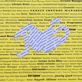 Jobs, freie Stellen und Öffnungen Lizenzfreie Stockbilder