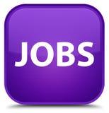Jobs special purple square button Stock Photo