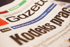 Jobs news paper Royalty Free Stock Image