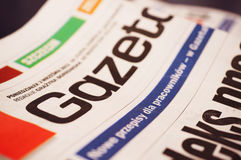 Jobs news paper Royalty Free Stock Photography