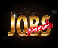 Jobs opening now Hiring red thumbsup advertising job offers in company. Created Jobs opening now Hiring red thumbsup advertising job offers in company Royalty Free Stock Photo