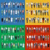 Jobs People Diversity Work Multiethnic Group Concept Stock Photos