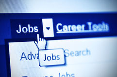Jobs search Stock Images