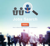 Jobs Search Applicant Career Employment Hiring Concept Royalty Free Stock Image