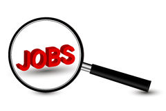 Jobs Search Concept Stock Image