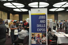 Jobs & Skills Expos stock images