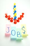 The jobs vacancies Stock Images
