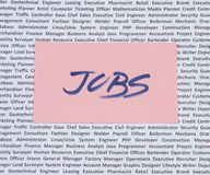 Jobs, Vacancies and Openings Royalty Free Stock Image