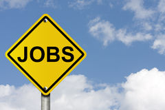 Jobs voran Lizenzfreies Stockfoto