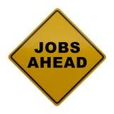 Jobs voran stockbilder