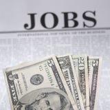 Jobs vorhanden lizenzfreies stockbild