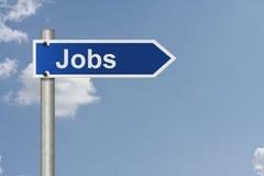 Jobs this way Royalty Free Stock Image