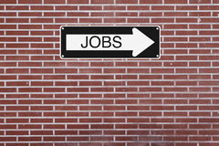 Jobs This Way Stock Photos