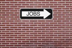 Jobs This Way Stock Photos