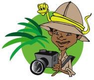 Jobserie - Fotograf Lizenzfreies Stockbild