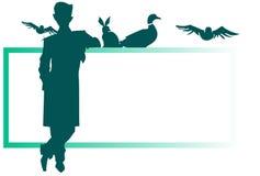 Jobserie - Tierarzt Stockbilder