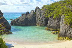 Jobson Cove Beach, Bermuda Royalty Free Stock Images