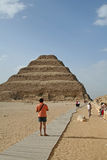 Jobstepp-Pyramide Lizenzfreie Stockfotos