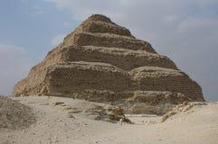 Jobstepp-Pyramide des Königs Djoser Stockfotografie
