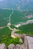 Jobstepps der Chinesischen Mauer Stockfotos