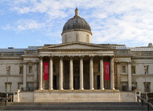 Jobstepps, die zum National Gallery, London f5uhren Lizenzfreies Stockbild