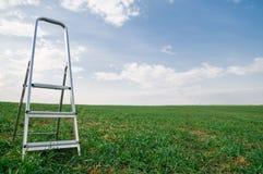 Jobstepps zum Himmel Stockfotos