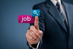 Jobsuchen Lizenzfreie Stockbilder