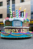 Joburg Carnaval - de Parade van de Straat - 125ste Verjaardag Stock Afbeelding