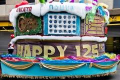 Joburg Karneval - Straßen-Parade - 125. Geburtstag Stockbild