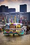 Joburg Karneval - Straßen-Parade - 125. Geburtstag Lizenzfreies Stockfoto