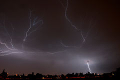 Joburg Lightning 7 Royalty Free Stock Photo