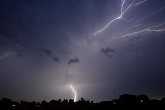 Joburg Lightning 6 Royalty Free Stock Images