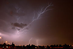 Joburg Lightning 4 Royalty Free Stock Photography