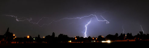 Joburg Lightning 2 Stock Images