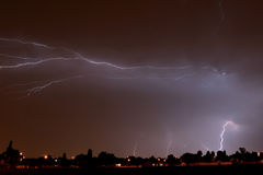 Joburg Lightning 1 Stock Photography