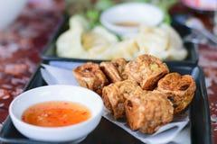 Jock gebraden kip voor een snack royalty-vrije stock foto