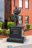 Jock Stein Statue Stock Photo